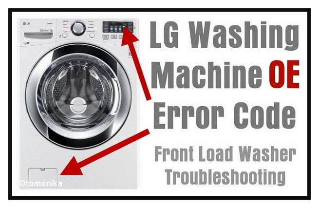 Lg Washer Replacement Parts Lg Front Load Washing Machine Error Code Oe How to Clear