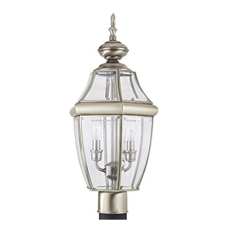 Sea Gull Lighting Replacement Parts Amazon Sea Gull Lighting 8229 965 Lancaster Two Light Outdoor